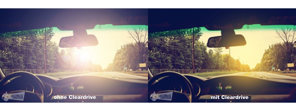 Autofahrer Brillenglas