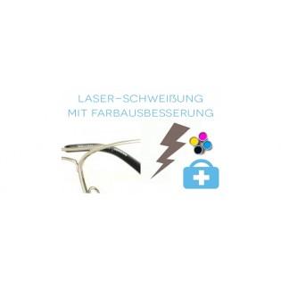 Laserschweißung mit Farbausbesserung