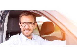 Brillengläser für Autofahrerbrille