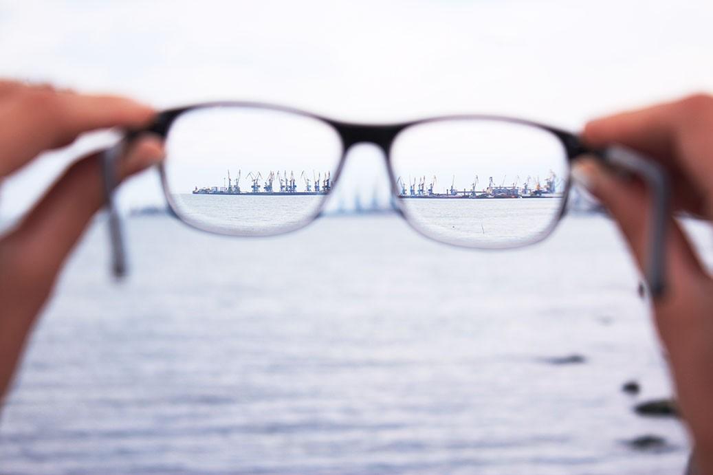 Neue Brille unscharf?
