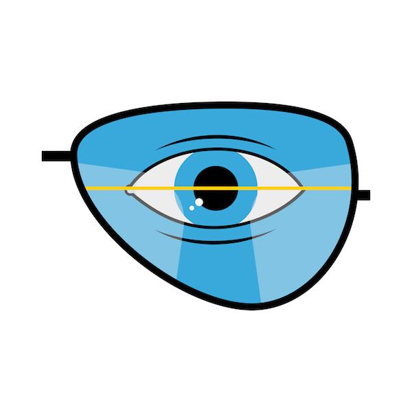 Übergang Fernsichtbereich zum Nahsichtbereich