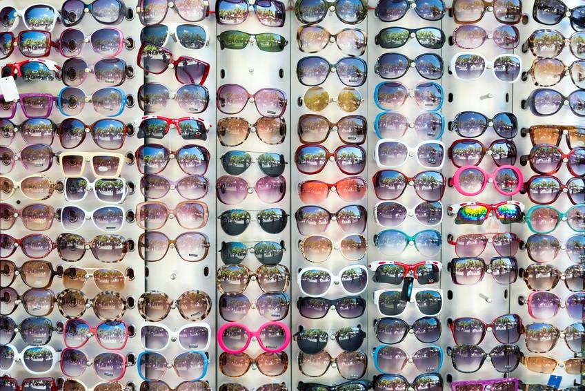 Die Materialien von Brillenfassungen